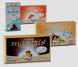 Confetti Prisco Maxtris. Confezione da 1 Kg. Certificato Kosher. Senza glutine.