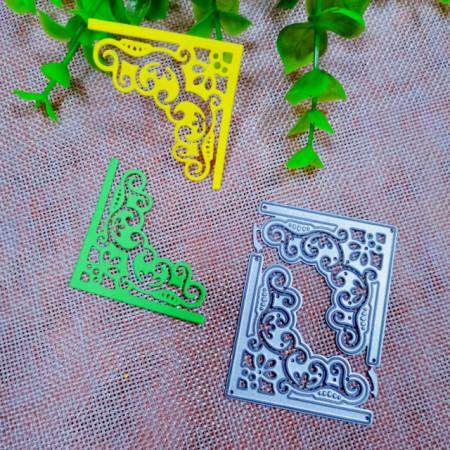 Cornice decorata Fustelle sottili metalliche per Scrapbooking