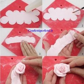 Stampo per Rosa di 2 dimensioni per decorazioni torte