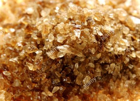 Zucchero candito in cristalli