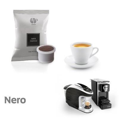 Passione Piu miscela Nera. Uno System. Lollo Caffè