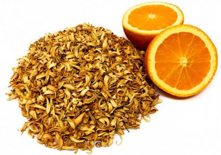 Petali di fiori d'arancio puri essiccati