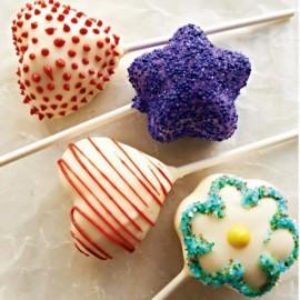 Pinza per realizzare velocemente fantastici Cake Pops a forma di Cuore Stella e Fiore.