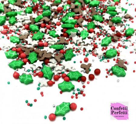 Natale Agrifoglio sprinkle glitter