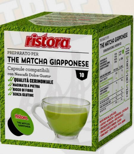 Tè Verde Matcha Giapponese. Dolcegusto. Ristora Caffè