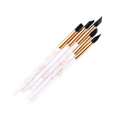 pennello silicone per decorare 4 mm