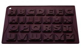 Stampo in policarbonato per lettere di Cioccolata