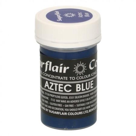 Blu Azteco.Colorante in Gel concentrati.Sugarflair