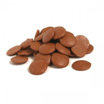 Cioccolato al Latte di qualità Superiore Reno. Ideale per Cioccolatini Cake Pops, Ganache, Oggetti stampati, Uova, Tavolette, Mousse ecc immagini