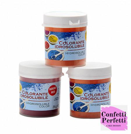 Colorante in polvere Idrosolubili concentrati 25 gr. Solchim