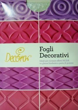 Effetto Trapunta. Kit di 4 Fogli Decorativi. Decora.