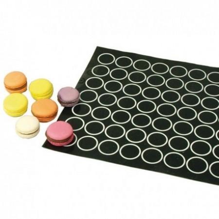 Macaron. 300 x 400 mm. Tappetino da Forno in silicone. Patisse immagini