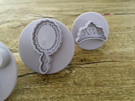 Rossetto Corona Profumo Specchio Stampo