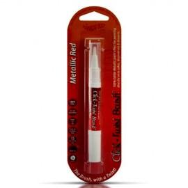 Rosso Metallizzato. Pennello per Dipingere