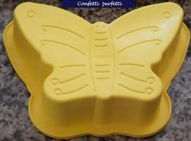 Stampo silicone Farfalla  grande misura 25 x 17 cm.