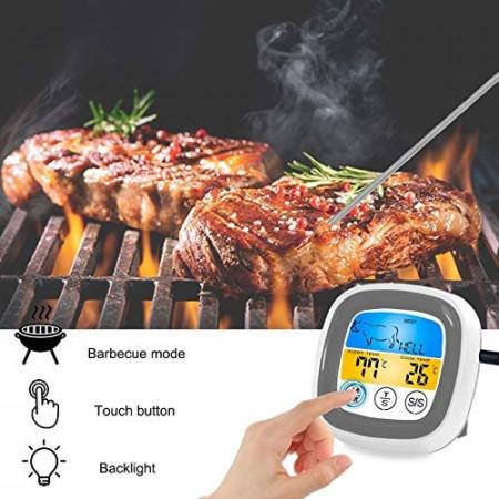 Termometro Bluetooth con Sonda e controllo digitale di alta qualità