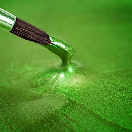 Verde Metallizzato. Colorante in gel. Rainbow Dust