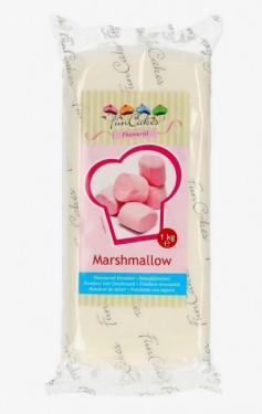 1 kg. Aromatizzata Marshmallow. Pasta di zucchero Bianca FunCakes.