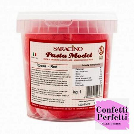 Pasta di zucchero Saracino Rossa
