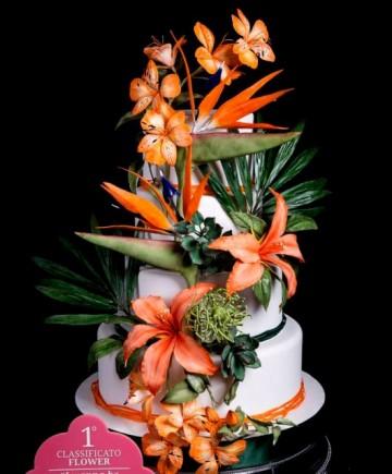 Bouquet. Gum Paste per Fiori Bianca per modellaggio fiori