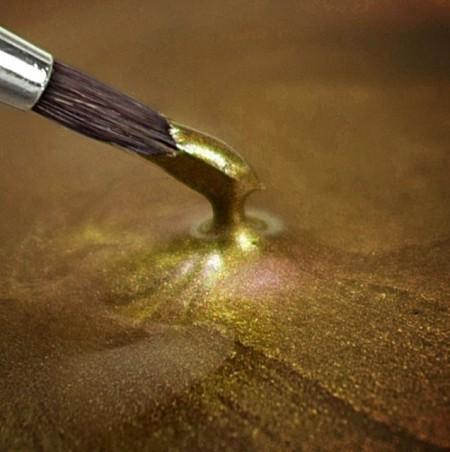 Oro Brillante Metallizzato Perlescente