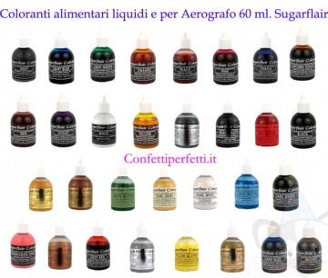 Colorante per Aerografo. Sugarflair