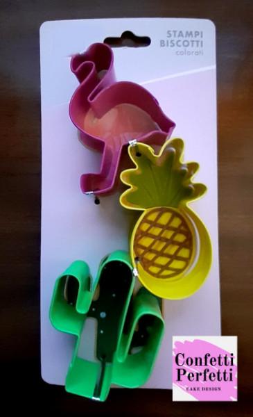Pellicano Ananas e Cactus stampo tagliapasta