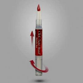 Rosso Metallizzato. Pennello per Dipingere alimentare