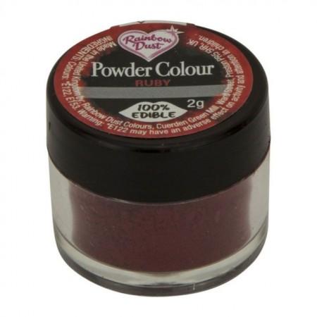 Rosso Colorante in polvere concentrato.