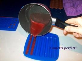 Stampo in silicone di 7 Barrette.