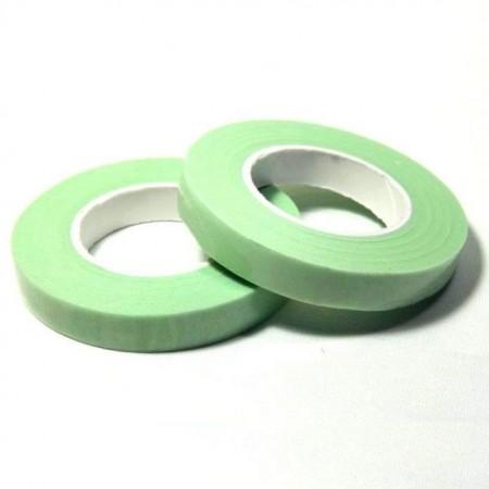 Verde Chiaro.12 mm. Nastro o Guttaperga per Fiori. Dekofee Floral Tape. Light Green immagini
