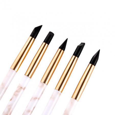 Pennelli in silicone di ottima qualità 4 mm