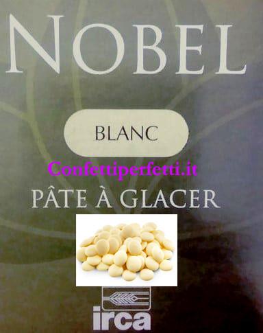 Cioccolato Bianco. Irca Nobel