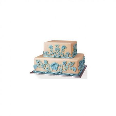 Corona Principessa stile Barocco. Stampo in silicone.
