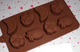 stampo frutta per cioccolato