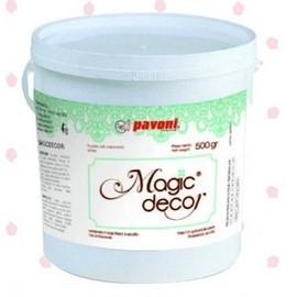 Magic Decor Mix per creare fantastici Pizzi e Merletti. Pavoni 250 gr.