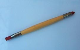 pennello a 2 punte silicone per decorare