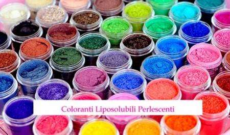 Perlescenti Concentrati Liposolubili. Coloranti in polvere. Senza Glutine