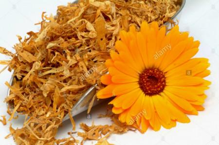 Petali di fiori di Calendula essiccati