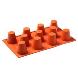 Stampo in silicone platinico Baba composto da 11 impronte.
