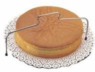 Taglia torta e fette in acciaio