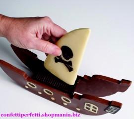 Vascello Pirati Stampo in Silicone componibile.