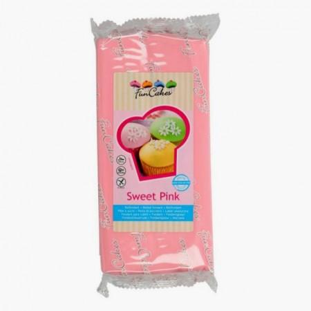 1 Kg Rosa Baby. Pasta di zucchero FunCakes Sweet Pink.