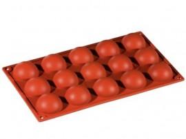 15 Semisfere di 50 mm Stampo in silicone