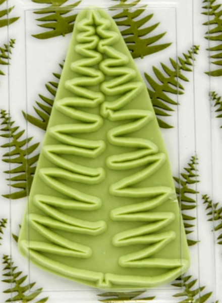 Albero Natale. Stampo Tagliapasta per la pasta di zucchero