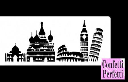 Colosseo Big Ben Cremlino Torre di Pisa