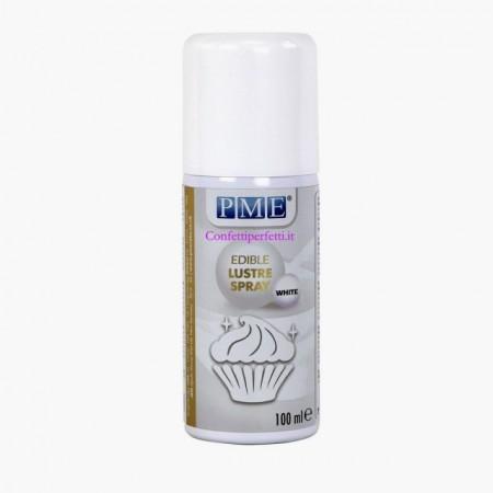 Extra Bianco. Spray Brillante e Perlescente di 100 ml. Lustre Spray PME