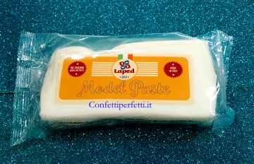 Gum Paste Bianca per Modellaggio Laped 500 gr. Certificata Kosher.
