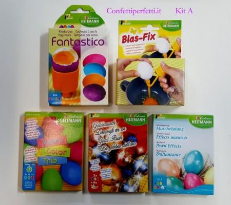 Kit A. Coloranti per Uova di Pasqua