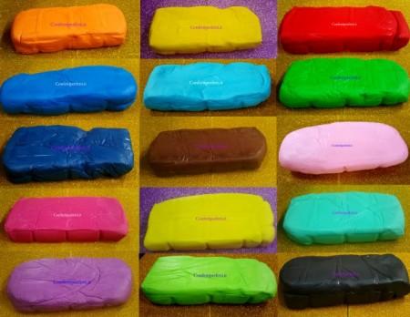 1 Kg. Tanti Colori. Pasta di zucchero Confetti Perfetti. Gluten Free per il cake design